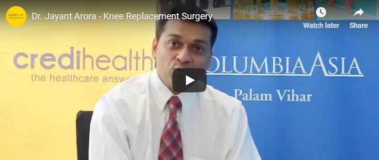 dr jayant arora knee surgeon video